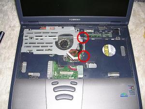 DynaBook Satellite 1800 のドライブ換装 4