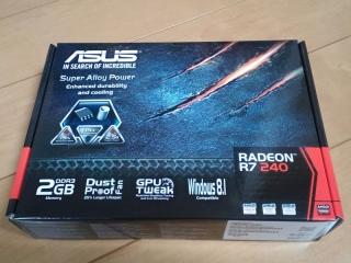 ASUSTek AMD Radeon R7 240搭載ビデオカード 防塵ファン R7240-2GD3-L 003