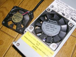 GX150 電源ファン 3
