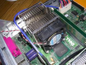 GX150 CPUファン