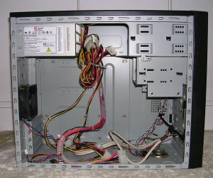 MicroATXケース300W電源付2