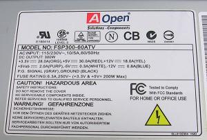 MicroATXケース300W電源付4