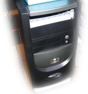 MicroATXケース300W電源付7