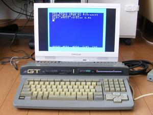 MSXと液晶モニター